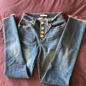 MCopper Key High Waisted Jeans 👖